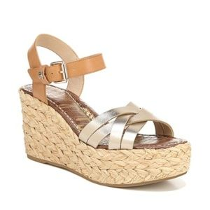 Sam Edelman Darline Platform Wedge Sandal 9